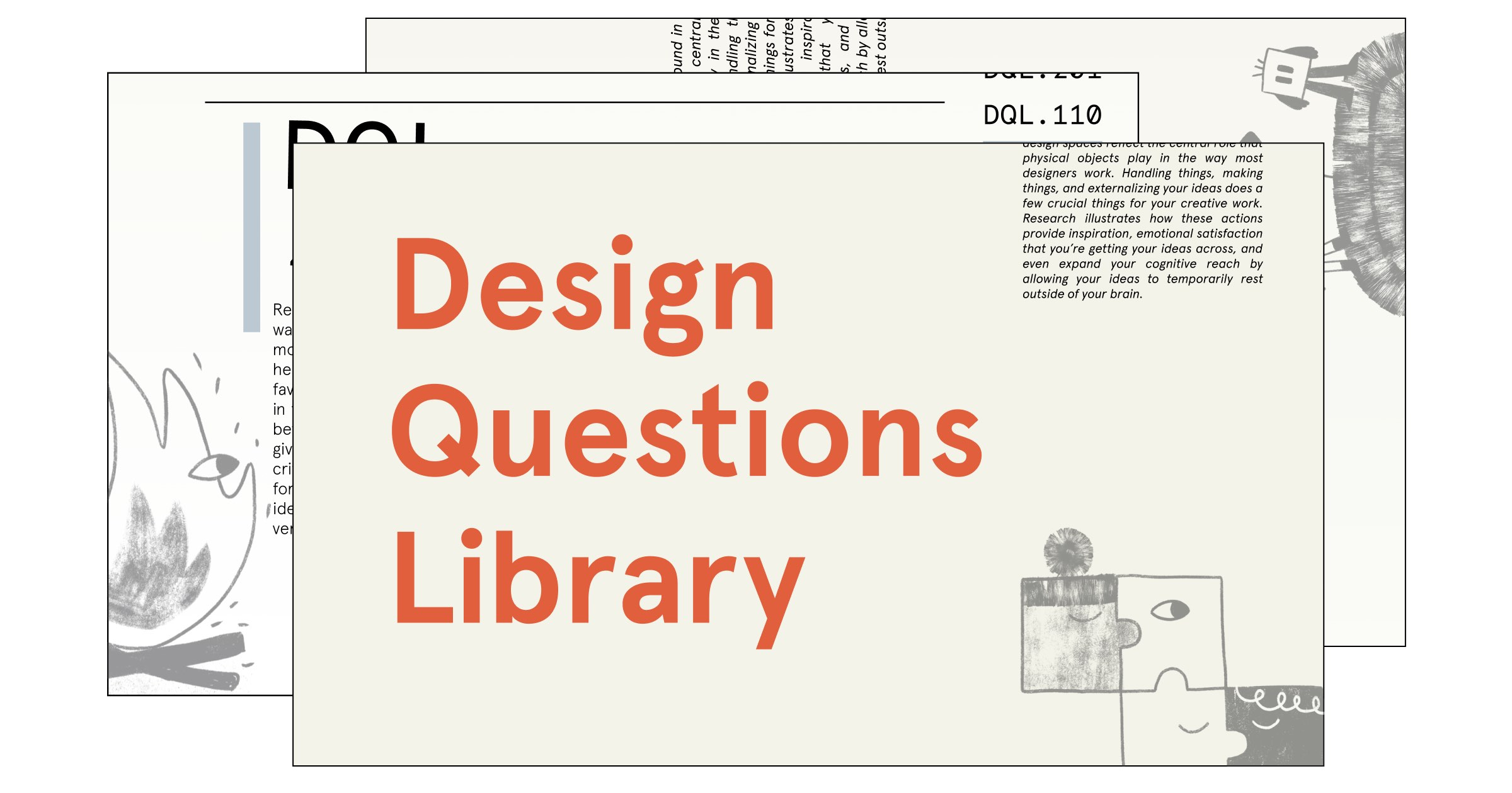 Design Questions Library | d.school public library